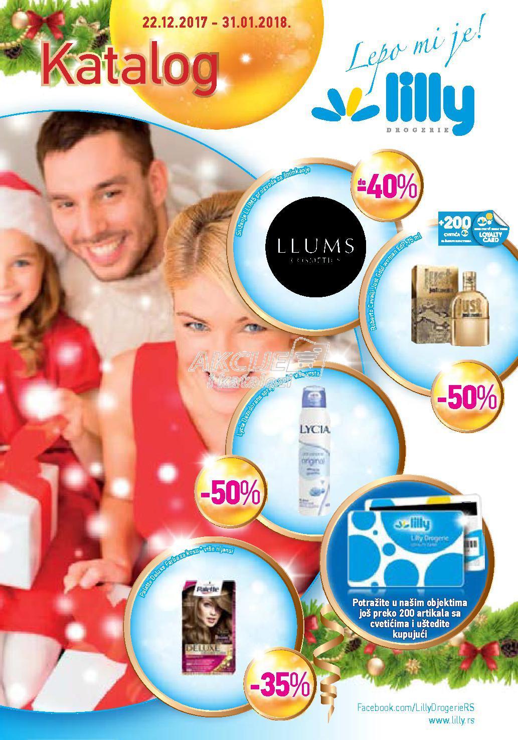 Lilly - Redovna akcija novogodišnje kupovine