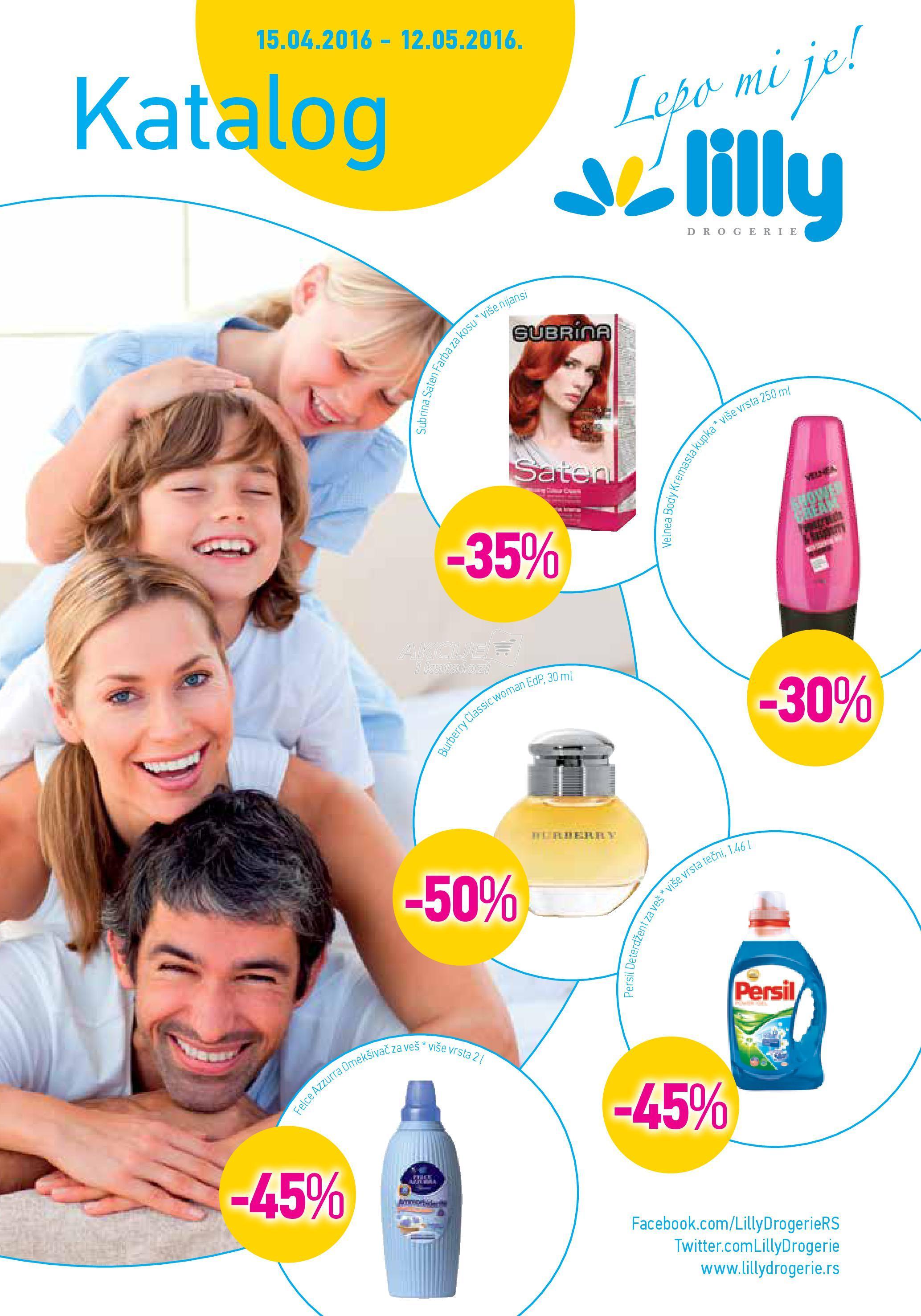 Lilly - Redovna akcija prolećne kupovine