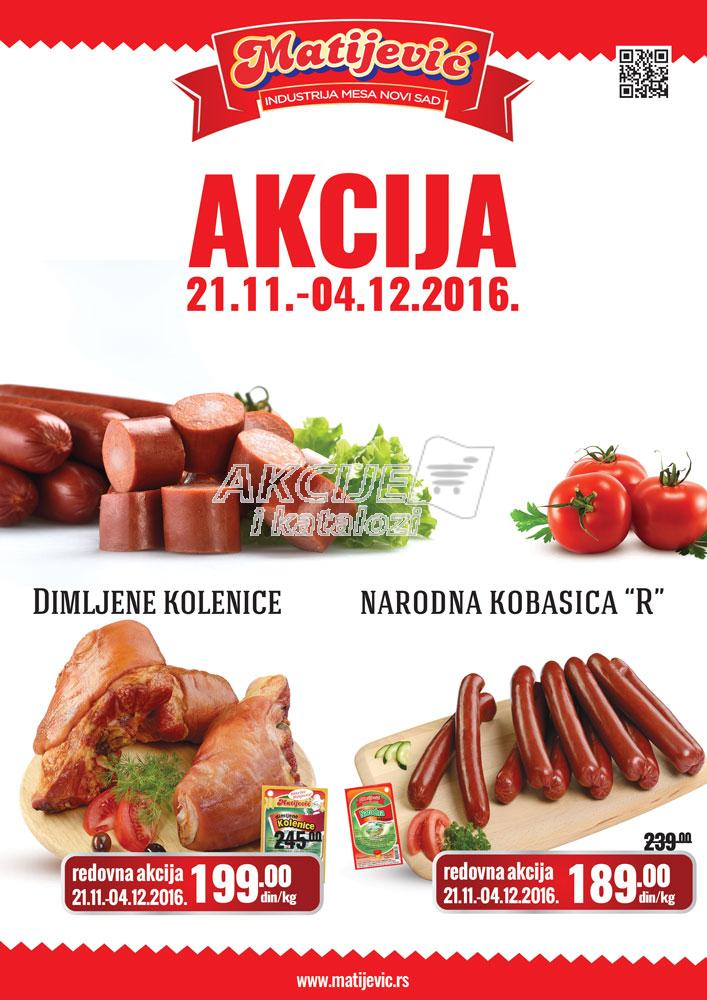 Matijević - Redovna akcija dimljeno