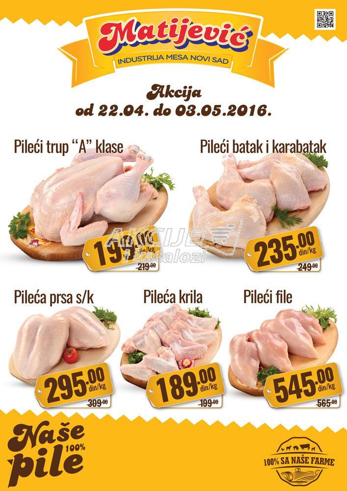 Matijević - Redovna akcija piletine