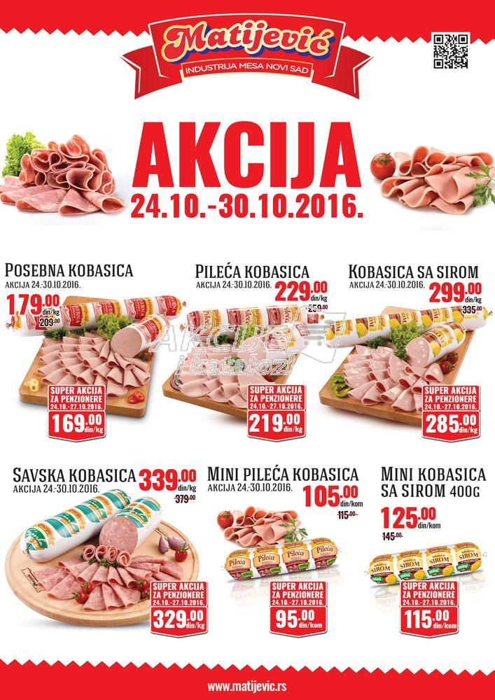 Matijević - Redovna akcija salame