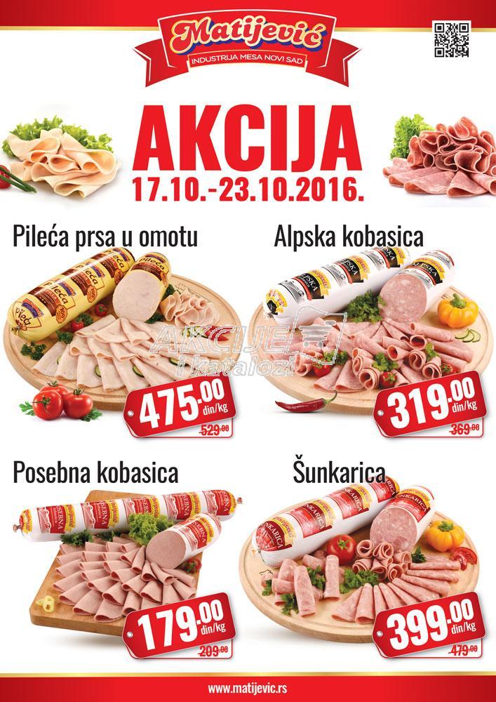 Matijević - Redovna akcija snićenje salama