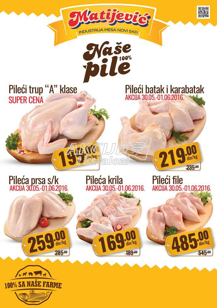 Matijević - Redovna akcija super cene piletine