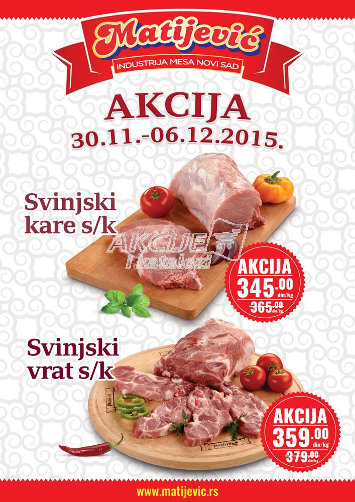Matijević - Redovna akcija super kupovine
