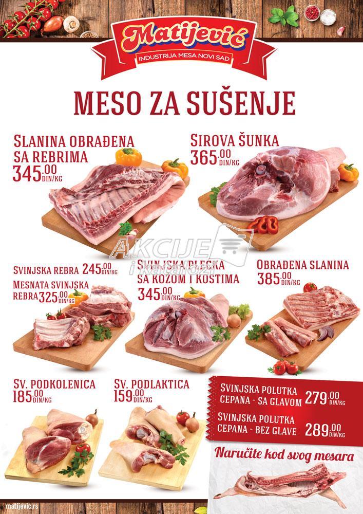 Matijević akcija sve za sušenje mesa