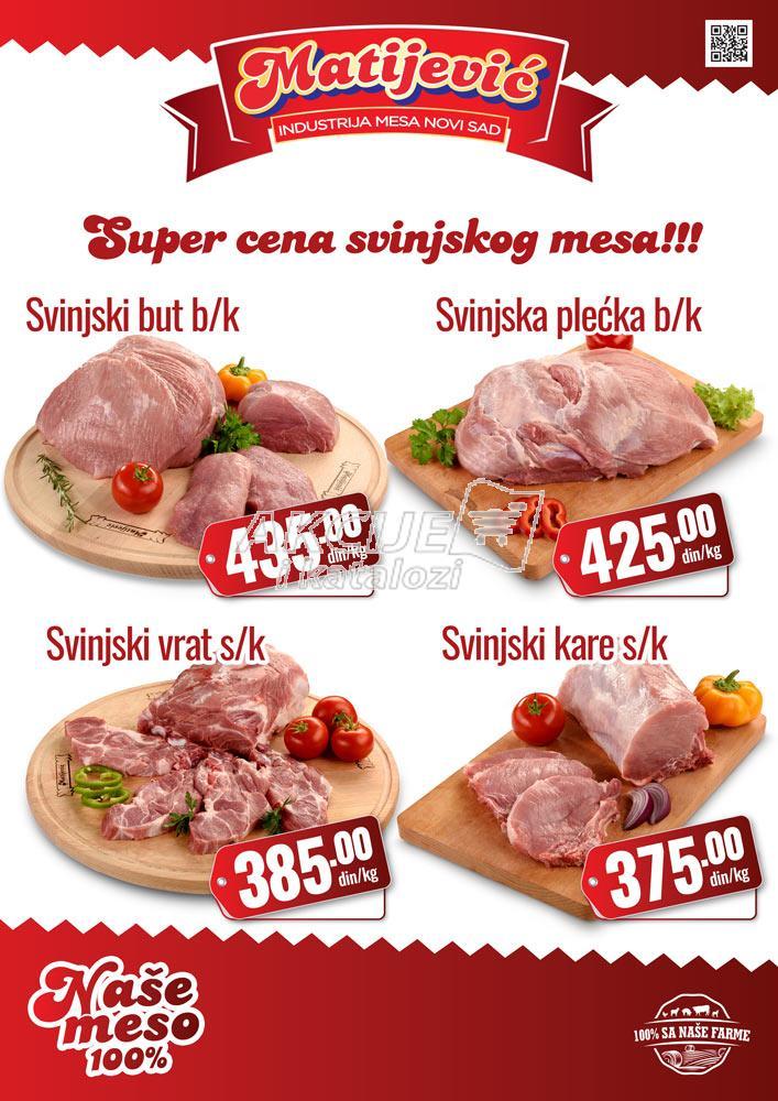 Matijević - Redovna akcija svinjetina