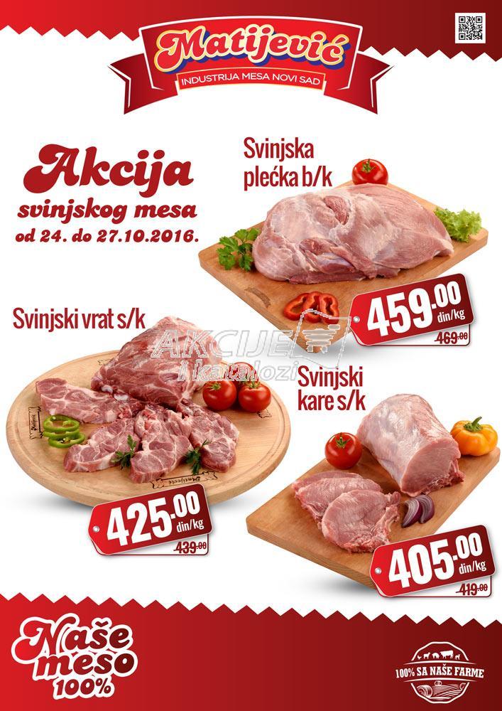 Matiejvić - Redovna akcija svinjetina