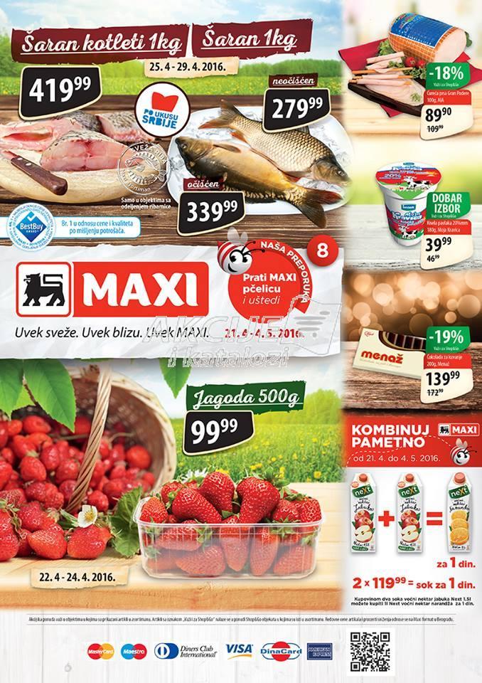 Maxi - Redovna akcija odličnih cena