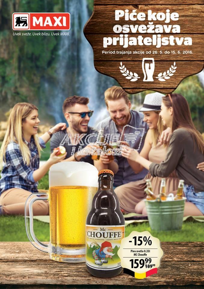 Maxi - Redovna akcija pivo za društvo