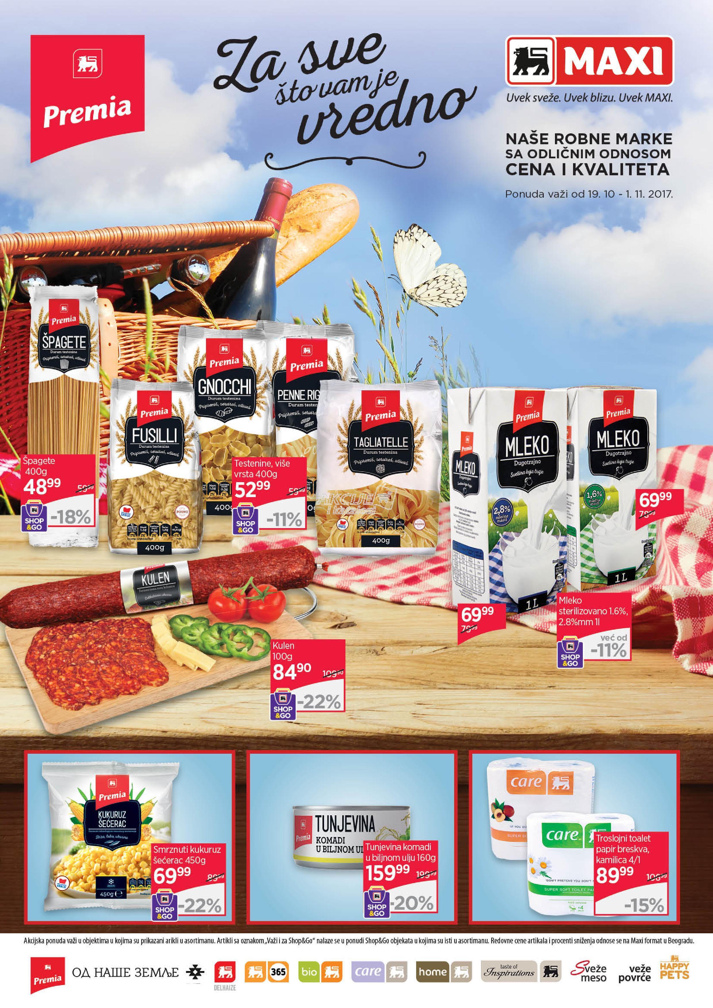 Maxi akcija PL proizvoda
