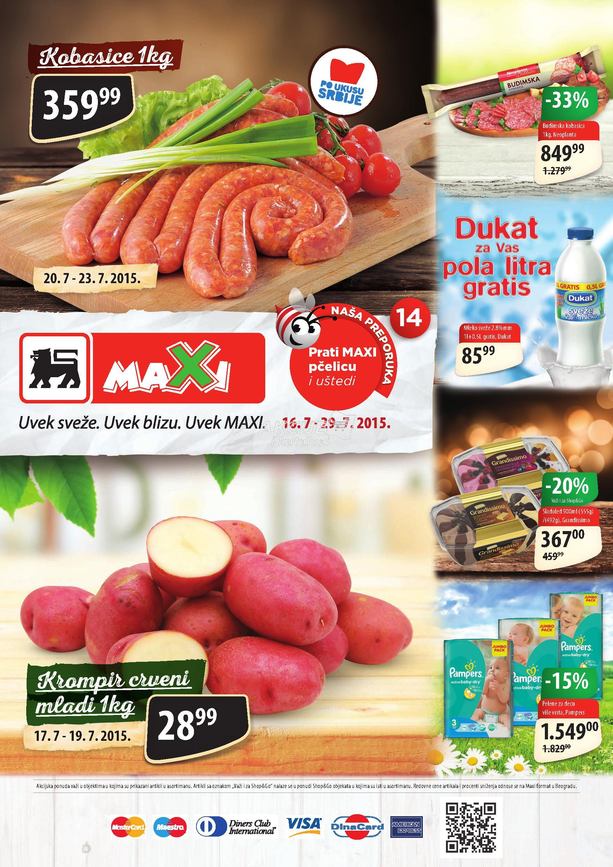 Maxi akcija super cena