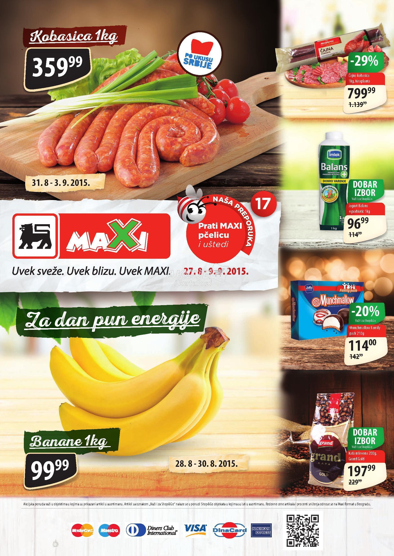 Maxi - Redovna akcija super kupovine