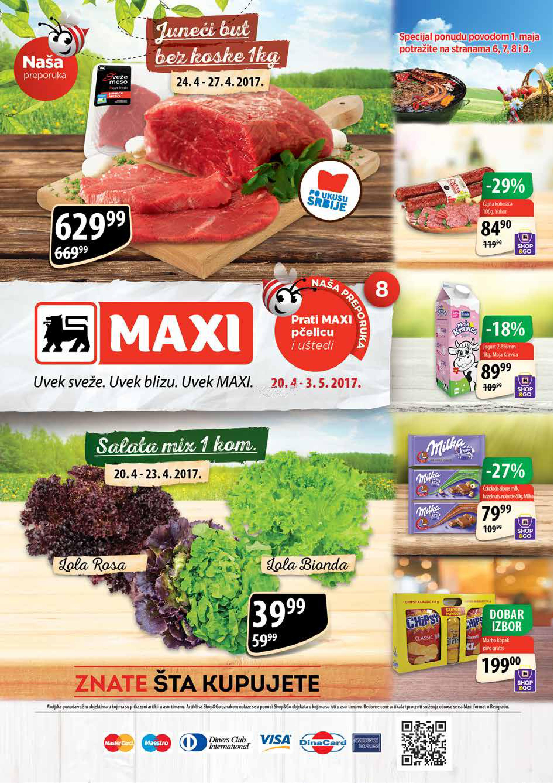 Maxi redovna akcija super uštede