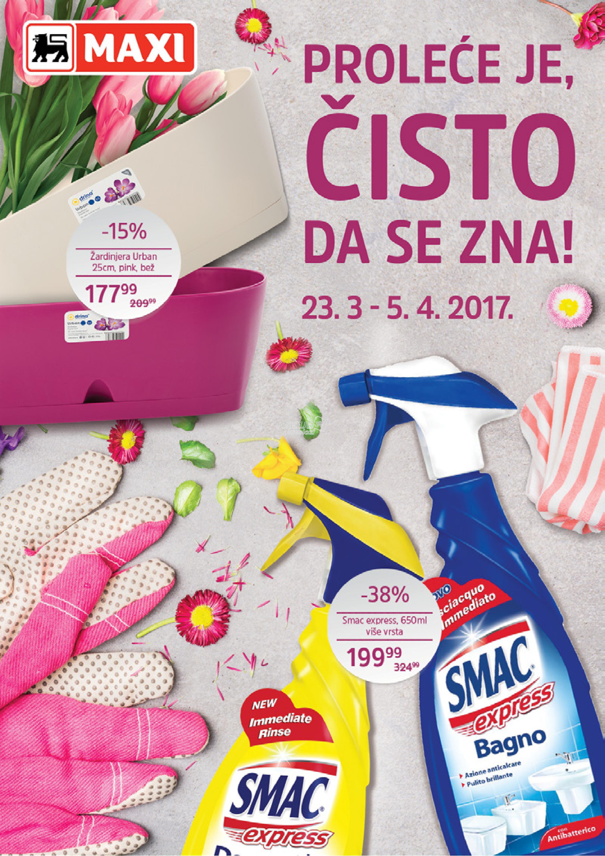 Maxi - Redovna akcija sve za čist dom