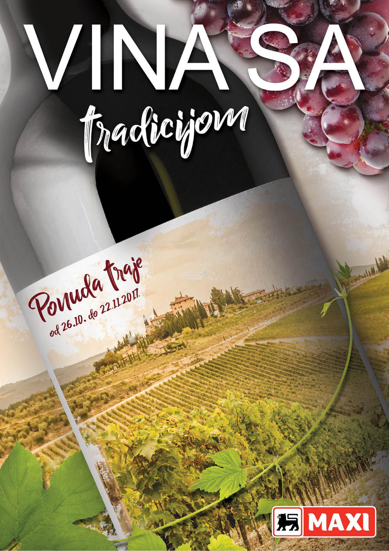 Maxi - Redovna akcija vina sa tradicijom
