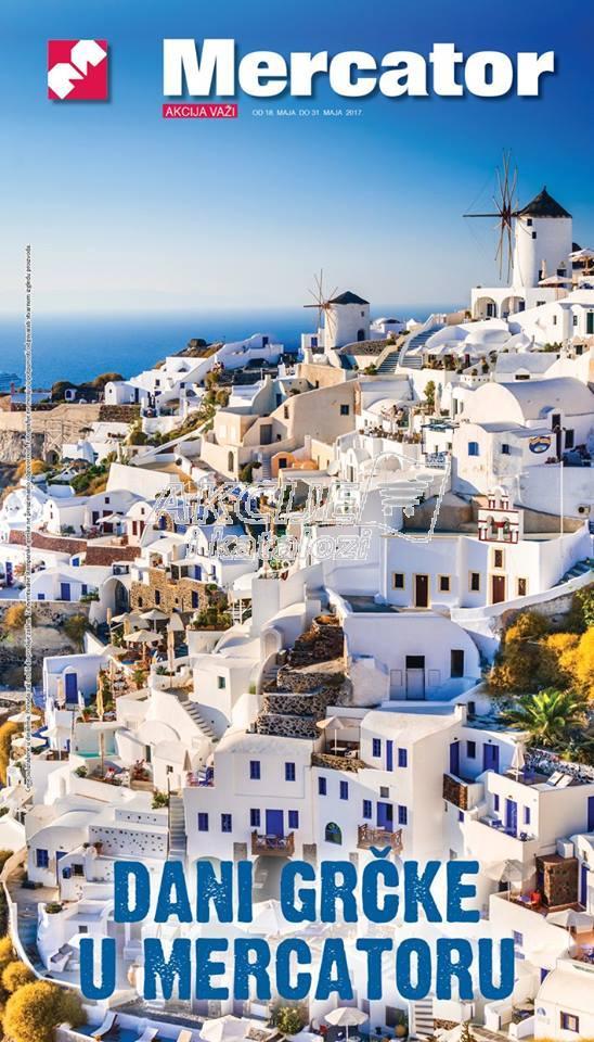 Mercator - Redovna akcija dani Grčke