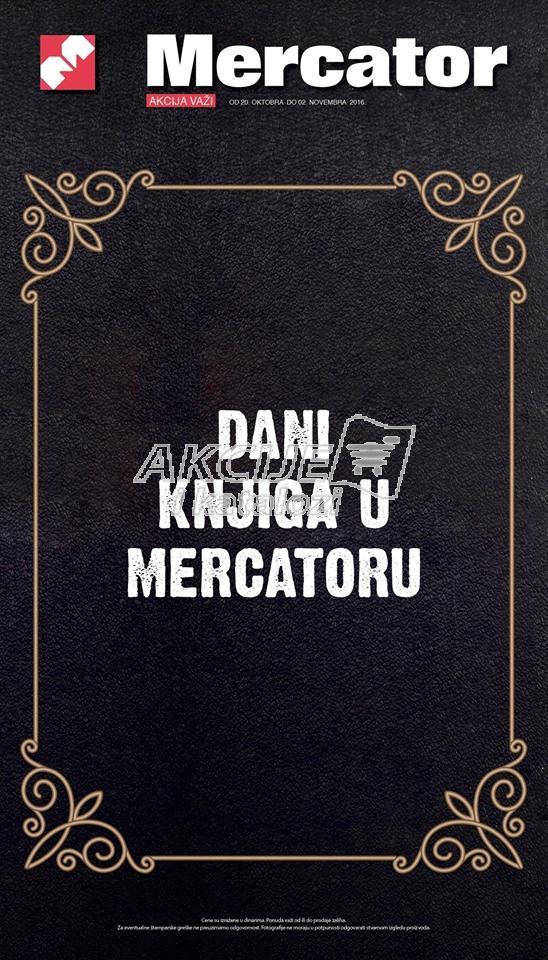 Mercator akcija dani knjige