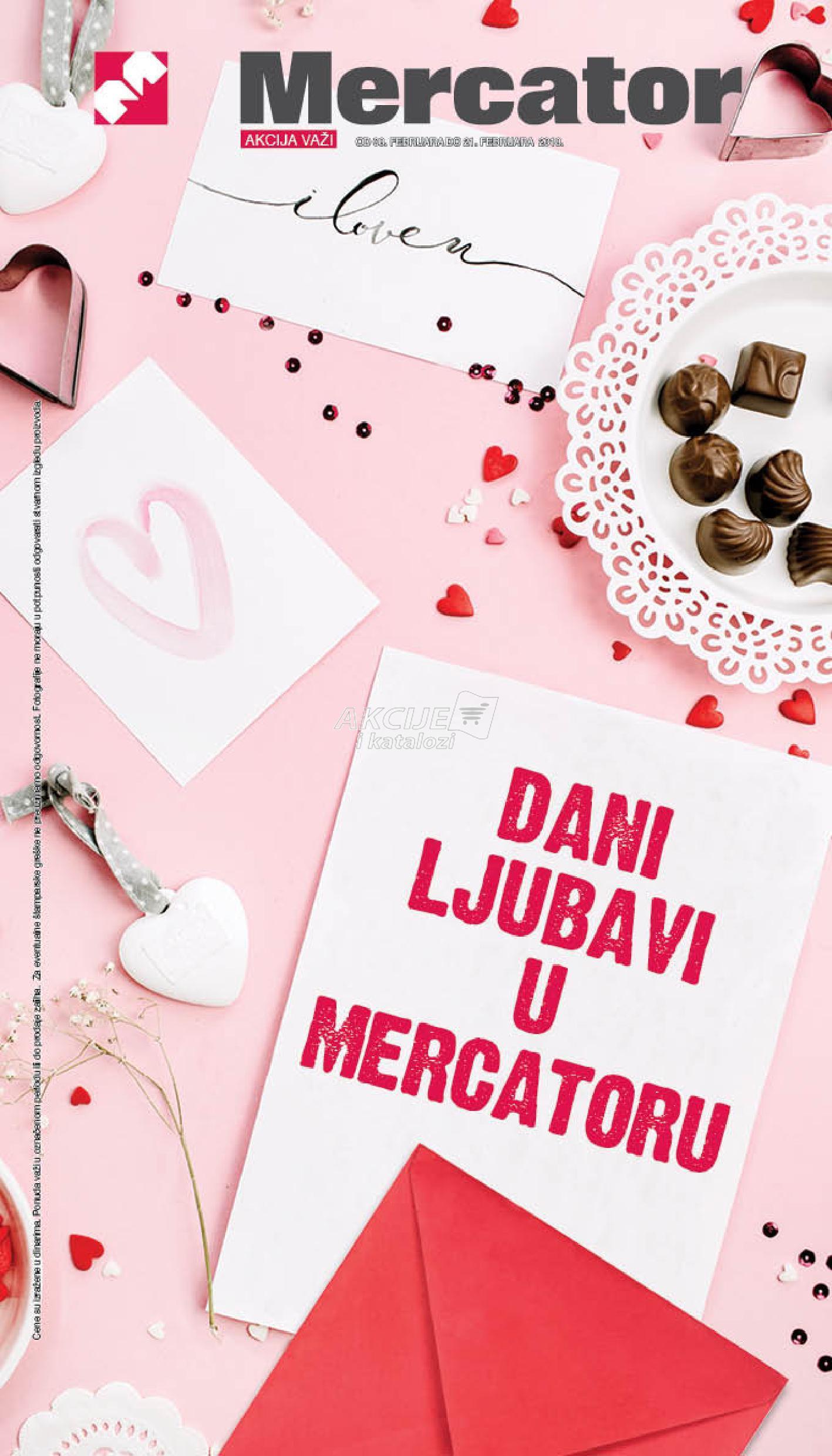 Mercator - Redovna akcija dani ljubavi