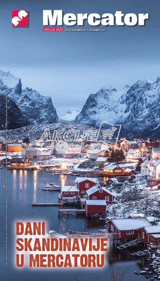 Mercator - Redovna akcija dani Skandinavije