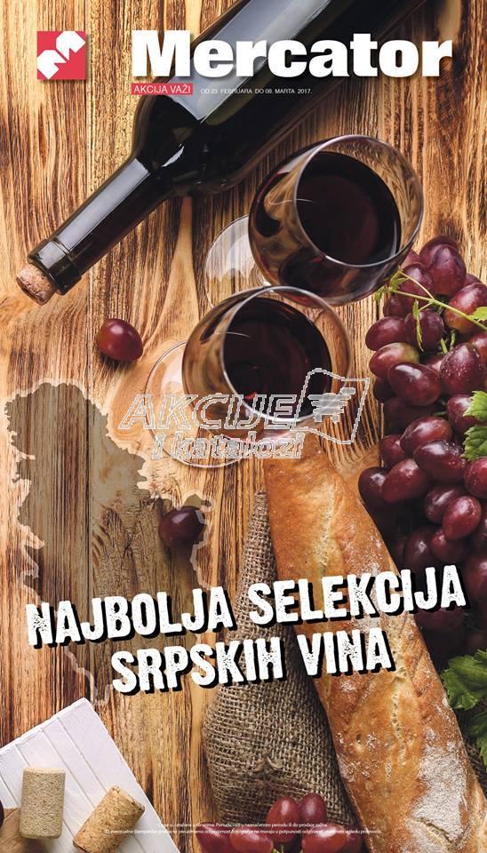 Mercator akcija vina iz celog sveta