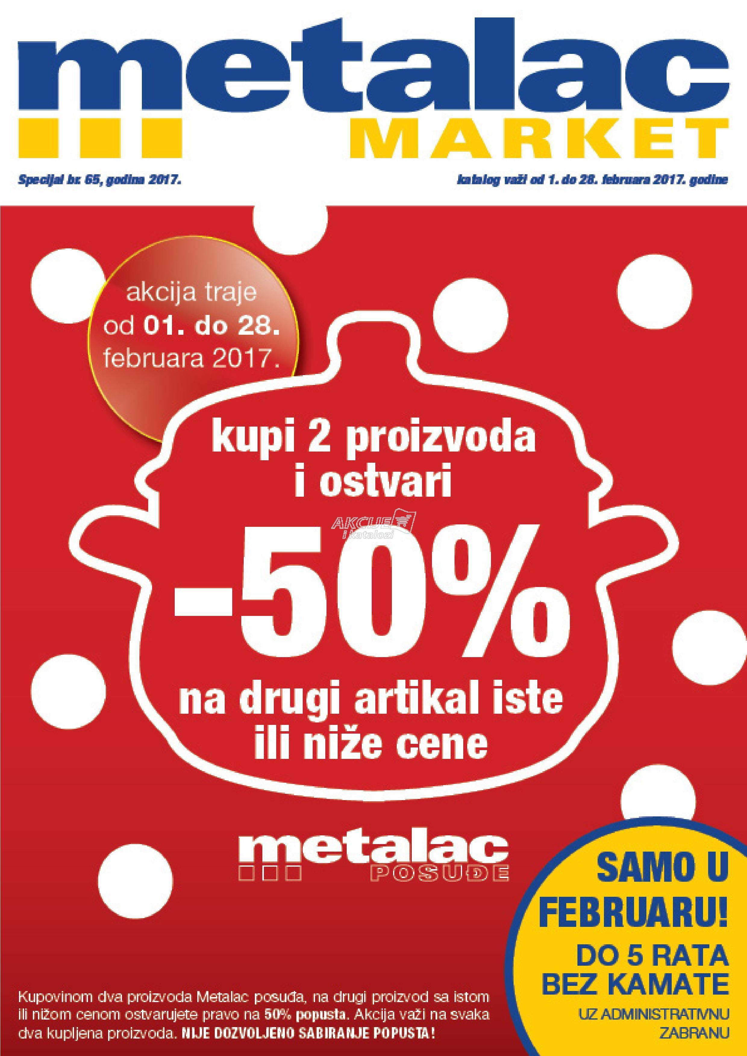 Metalac - Redovna akcija odlične kupovine