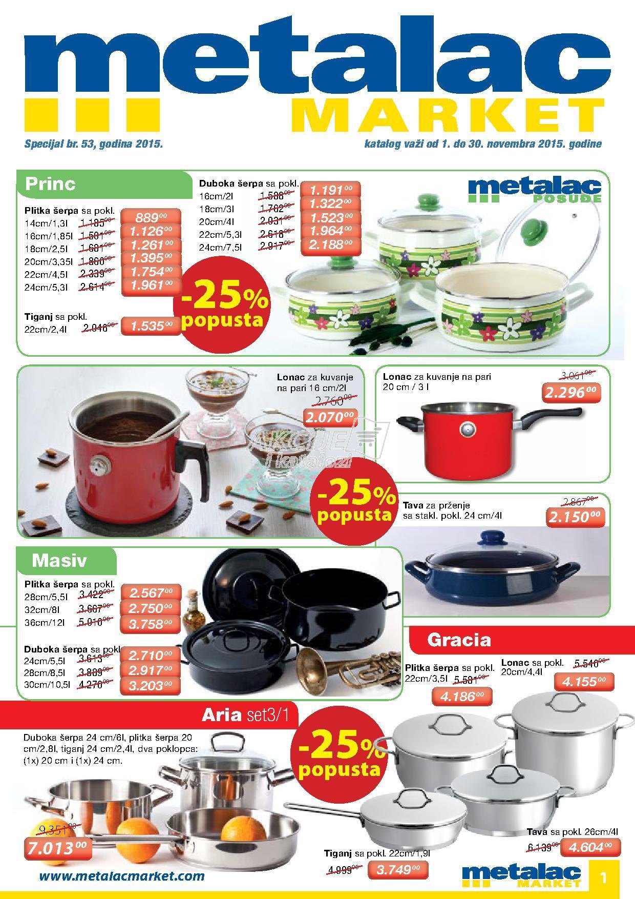 Metalac Market - Redovna akcija odlične kupovine