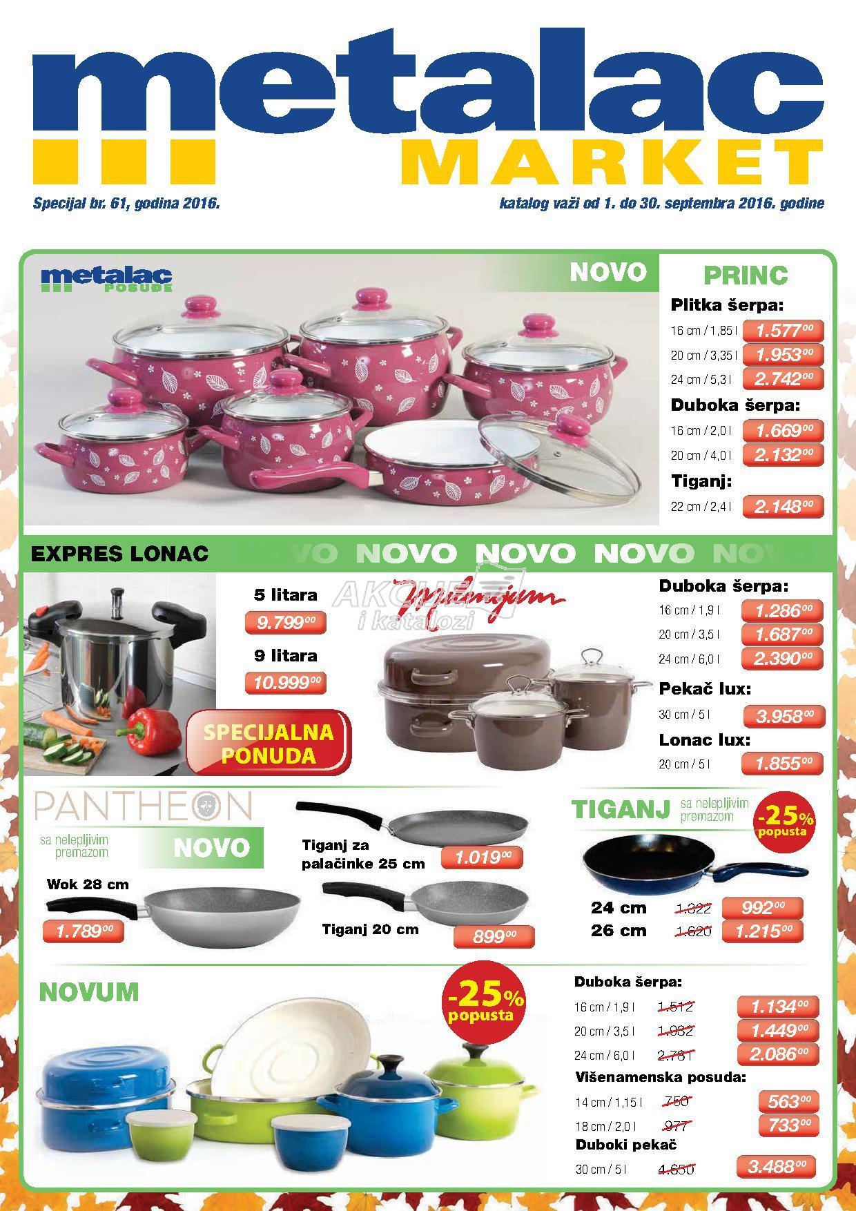 Metalac Market - Redovna akcija katalog sniženja
