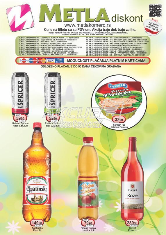 Metla Komerc - Redovna akcija odlične kupovine