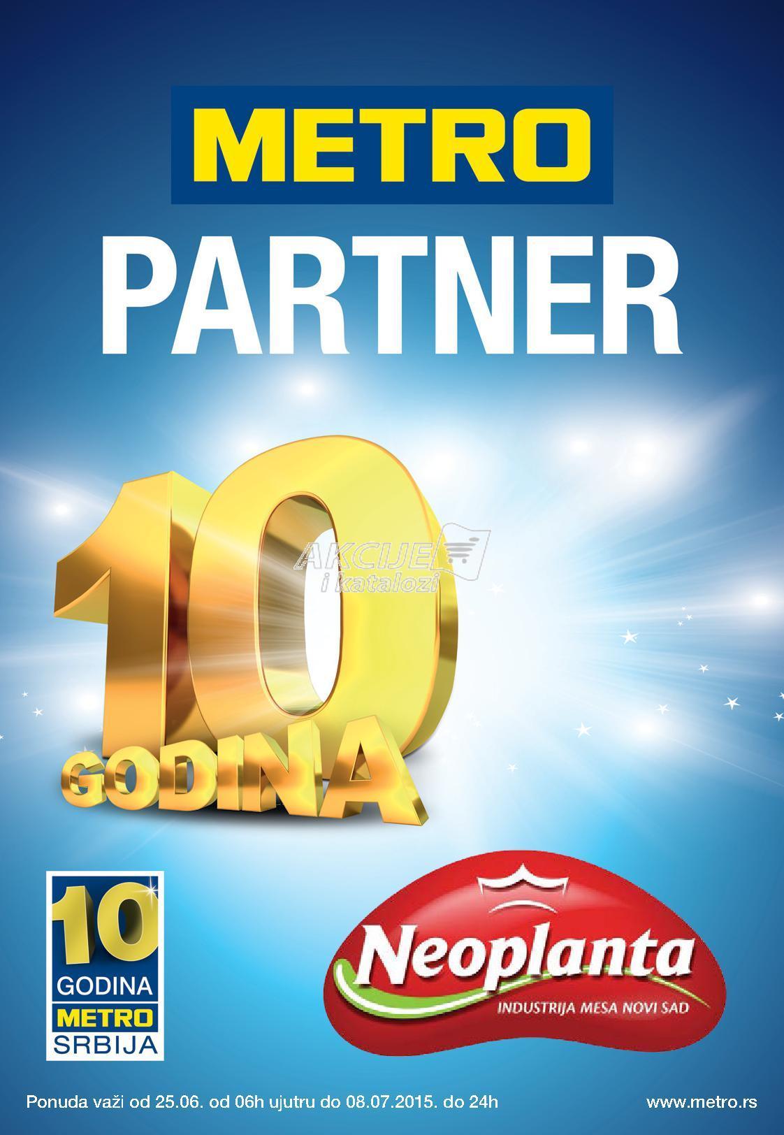 Metro akcija ponuda Neoplanta proizvoda