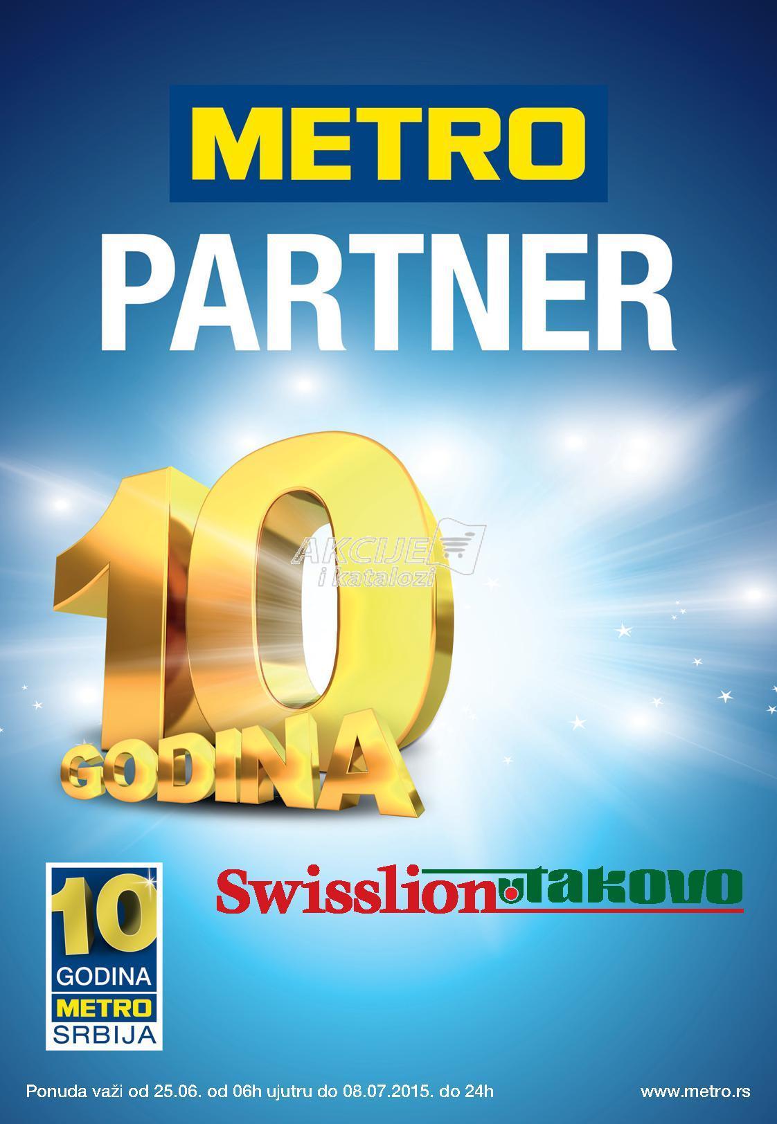 Metro akcija ponuda Swisslion proizvoda