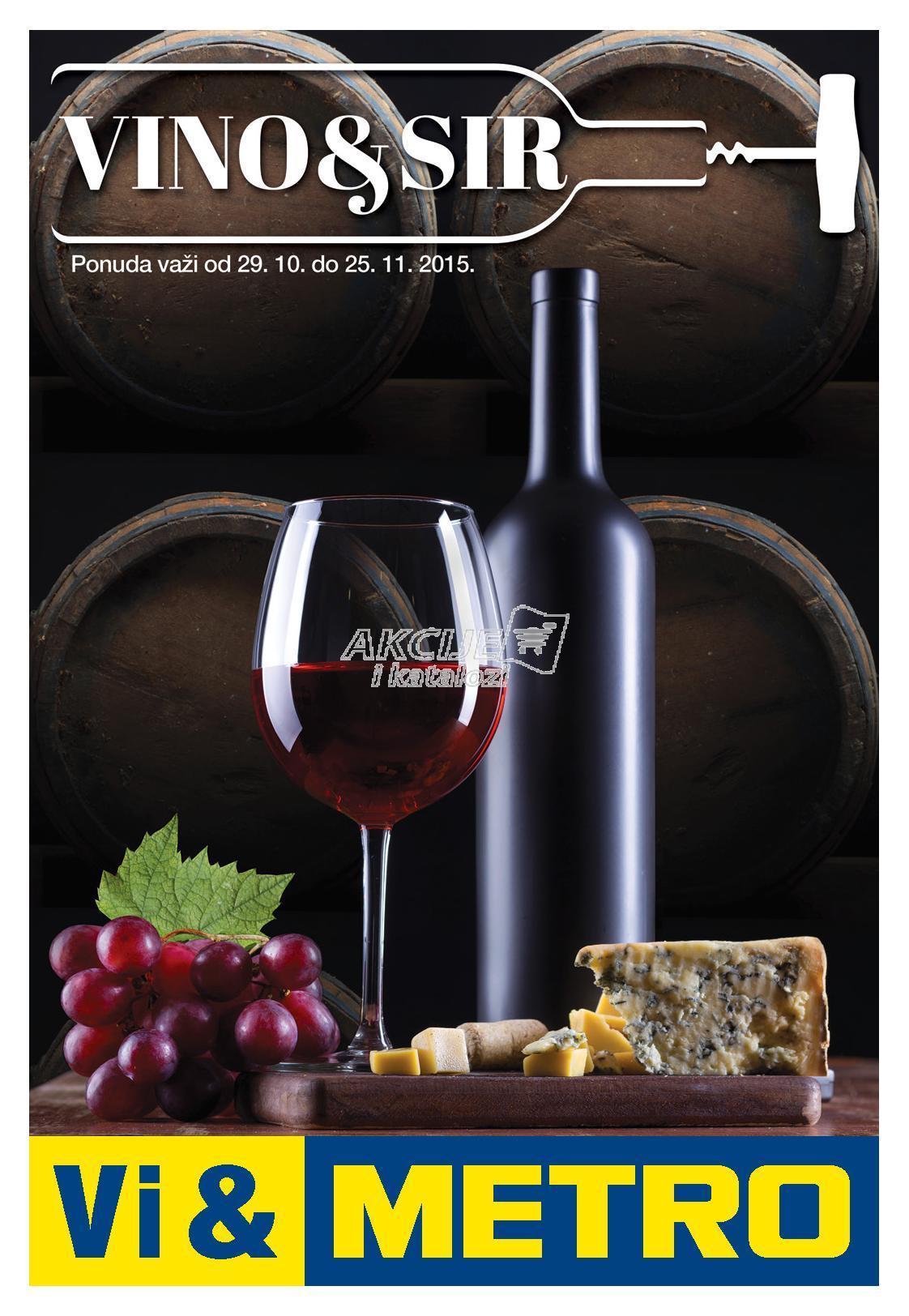 Metro - Redovna akcija vino i sir
