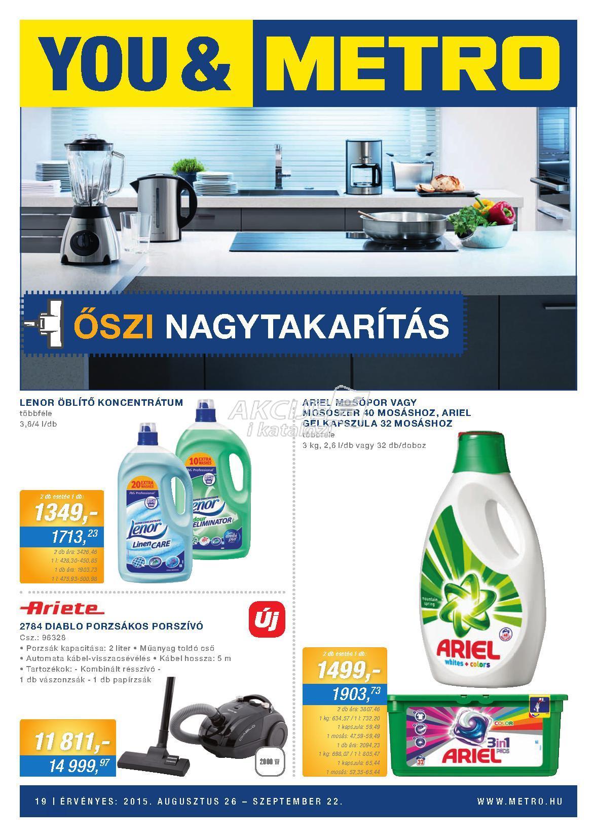 Metro Mađarska akcija kućne hemije