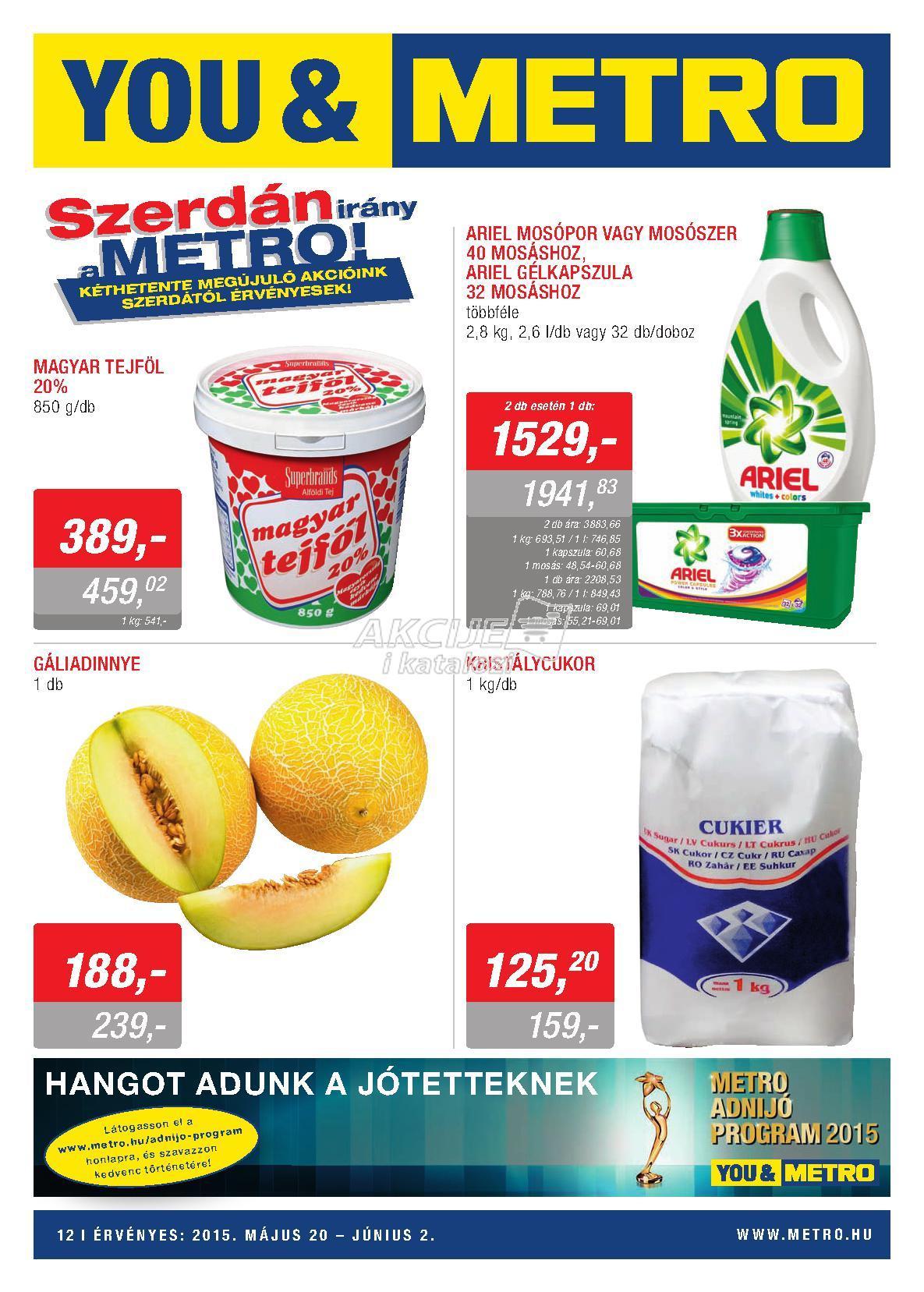 Metro Mađarska akcija ponuda prehrane i hemije