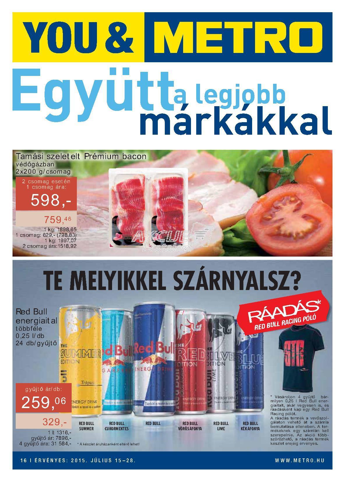 Metro Mađarska akcija super cene brendova
