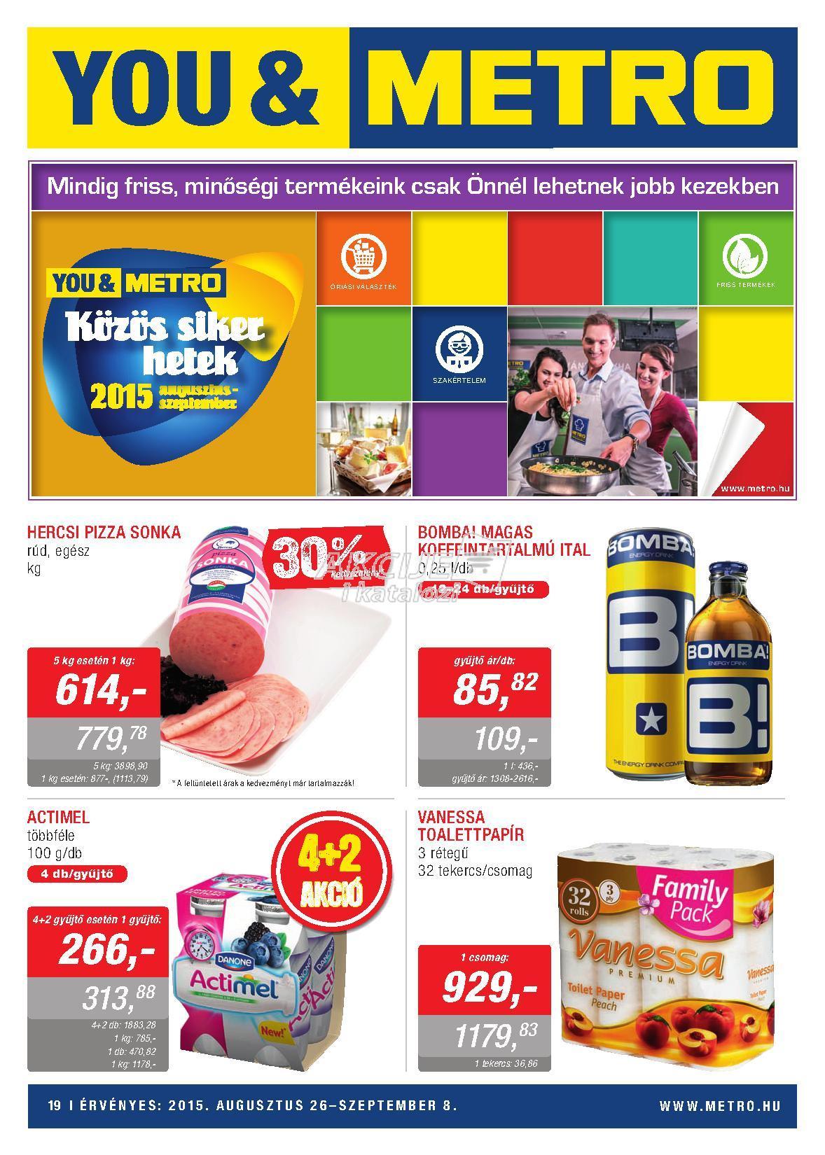 Metro Mađarska akcija super cene prehrane