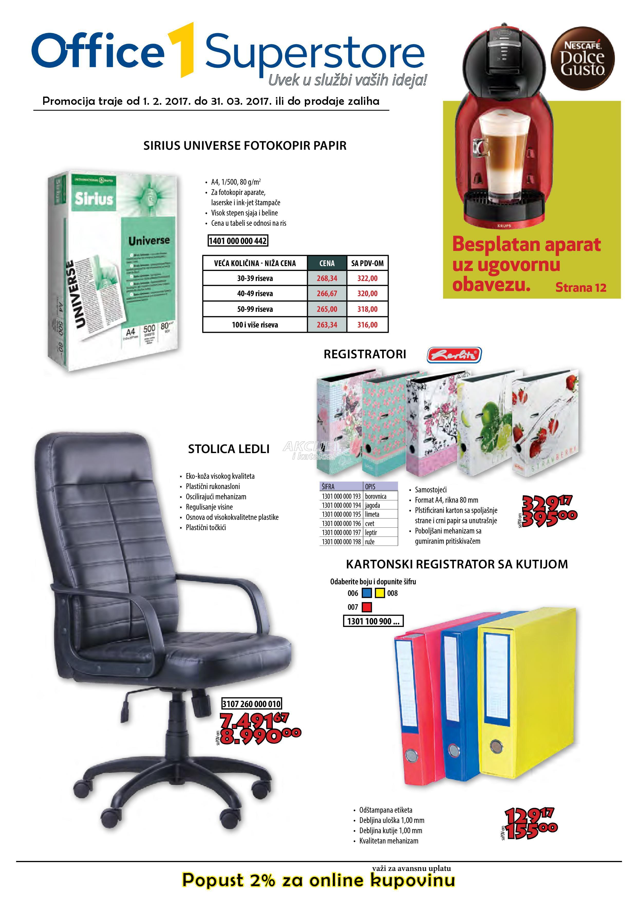 Office1Superstore - Redovna akcija odlične kupovine