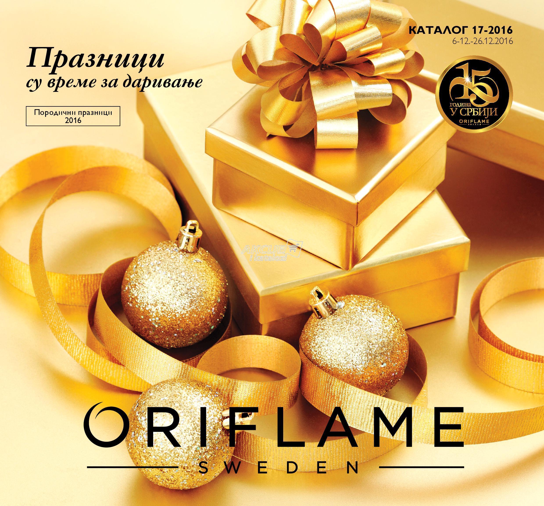 Oriflame - Redovna akcija praznične kupovine
