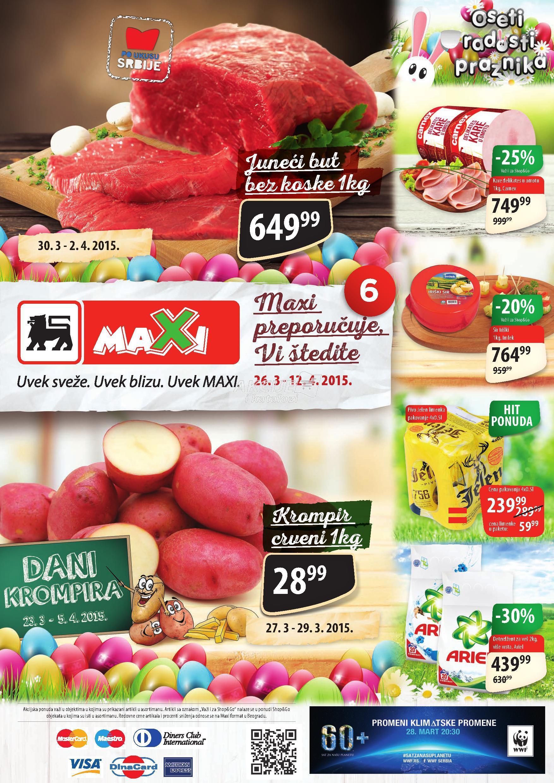 Maxi - Redovna akcija sjajne kupovine