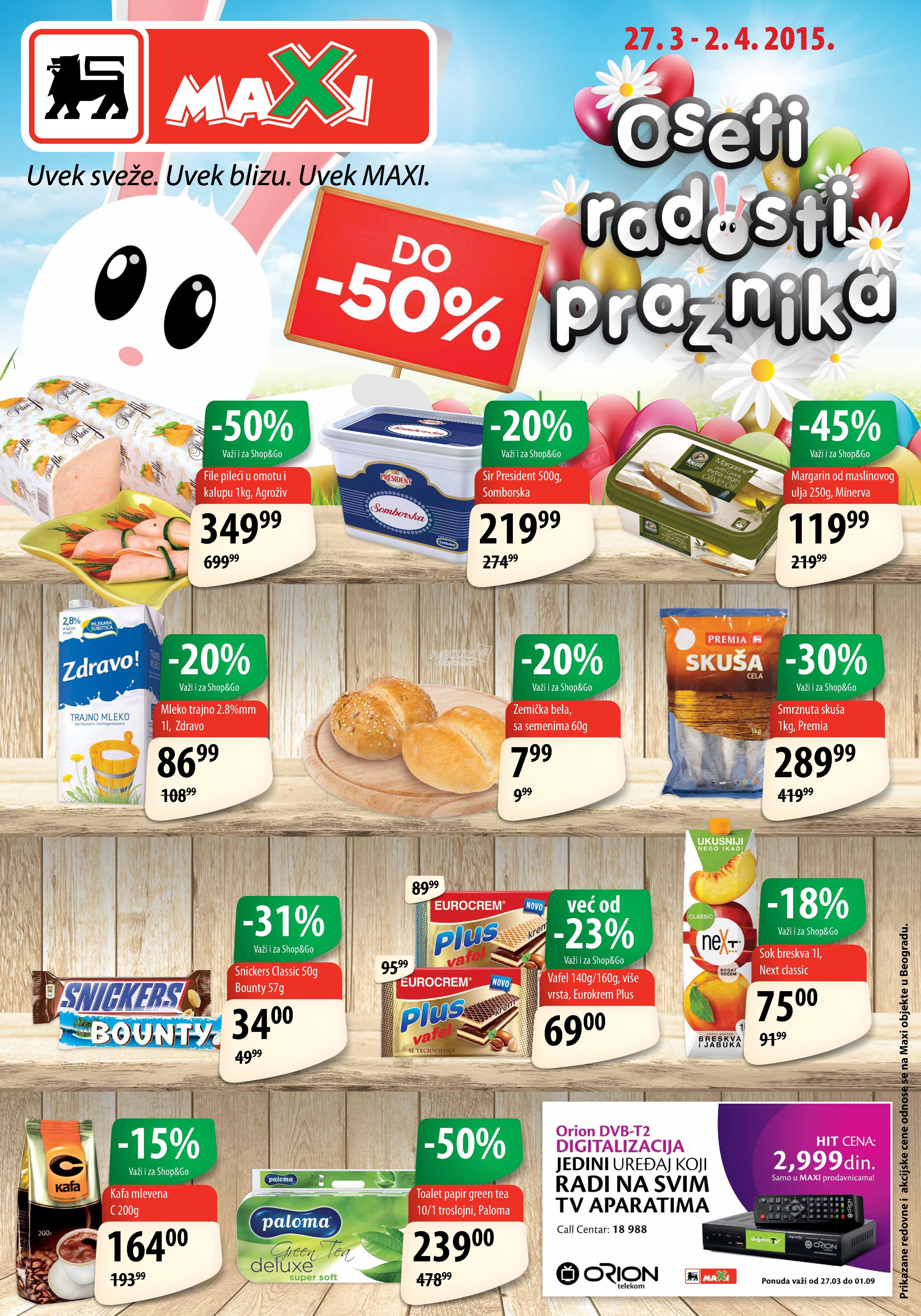 Maxi - Redovna akcija nedelja super kupovine