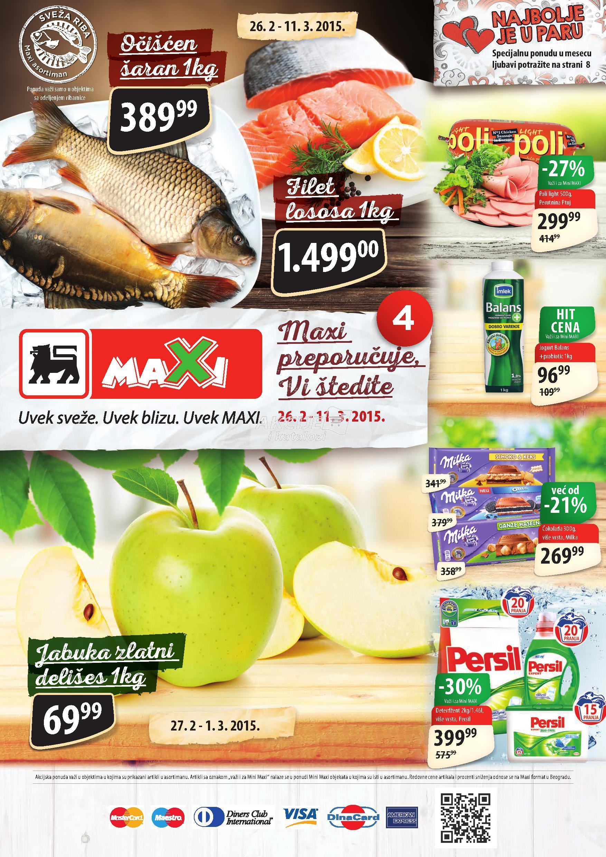 Maxi - redopvna akcija super cena