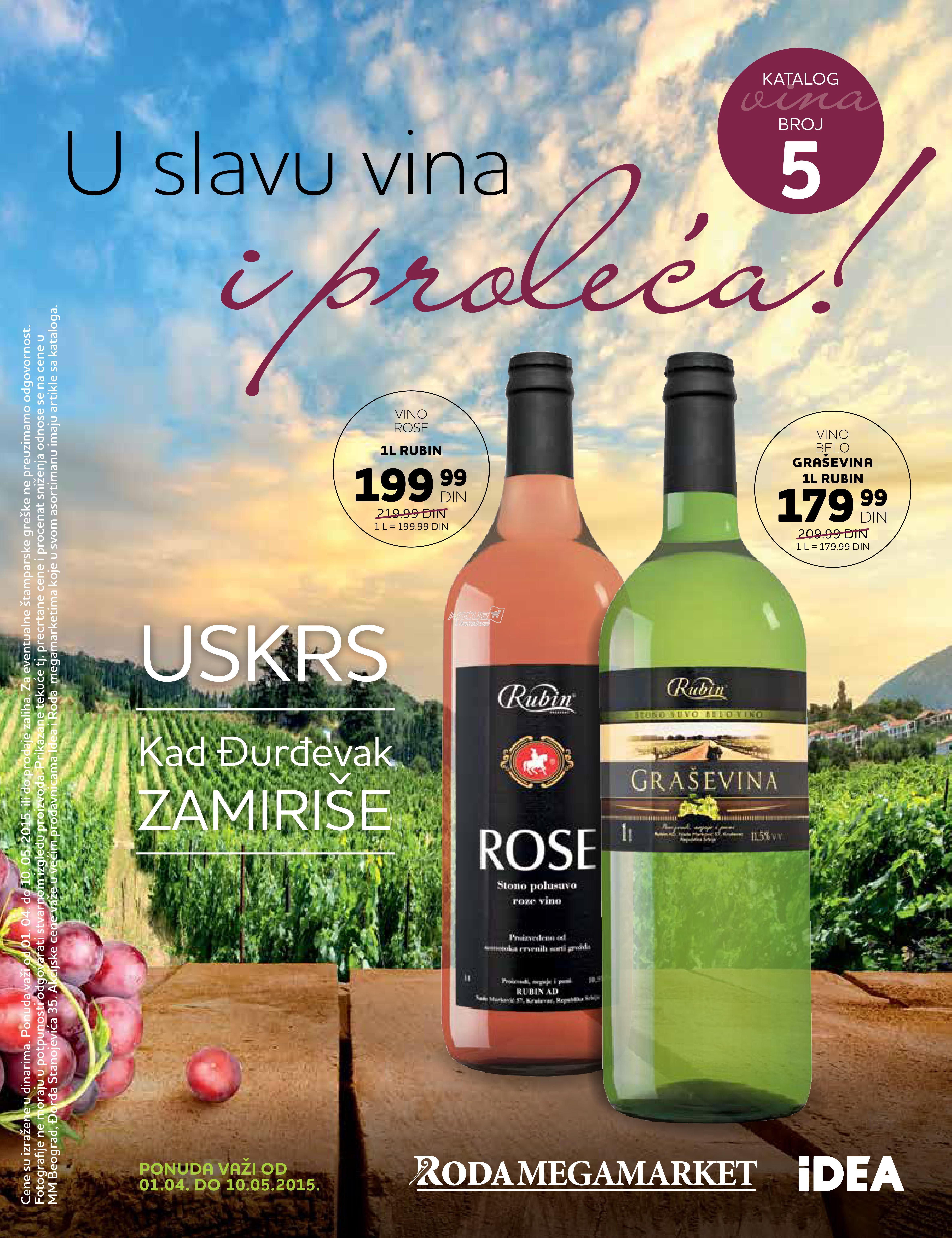 Idea - Redovna akcija ponuda vina