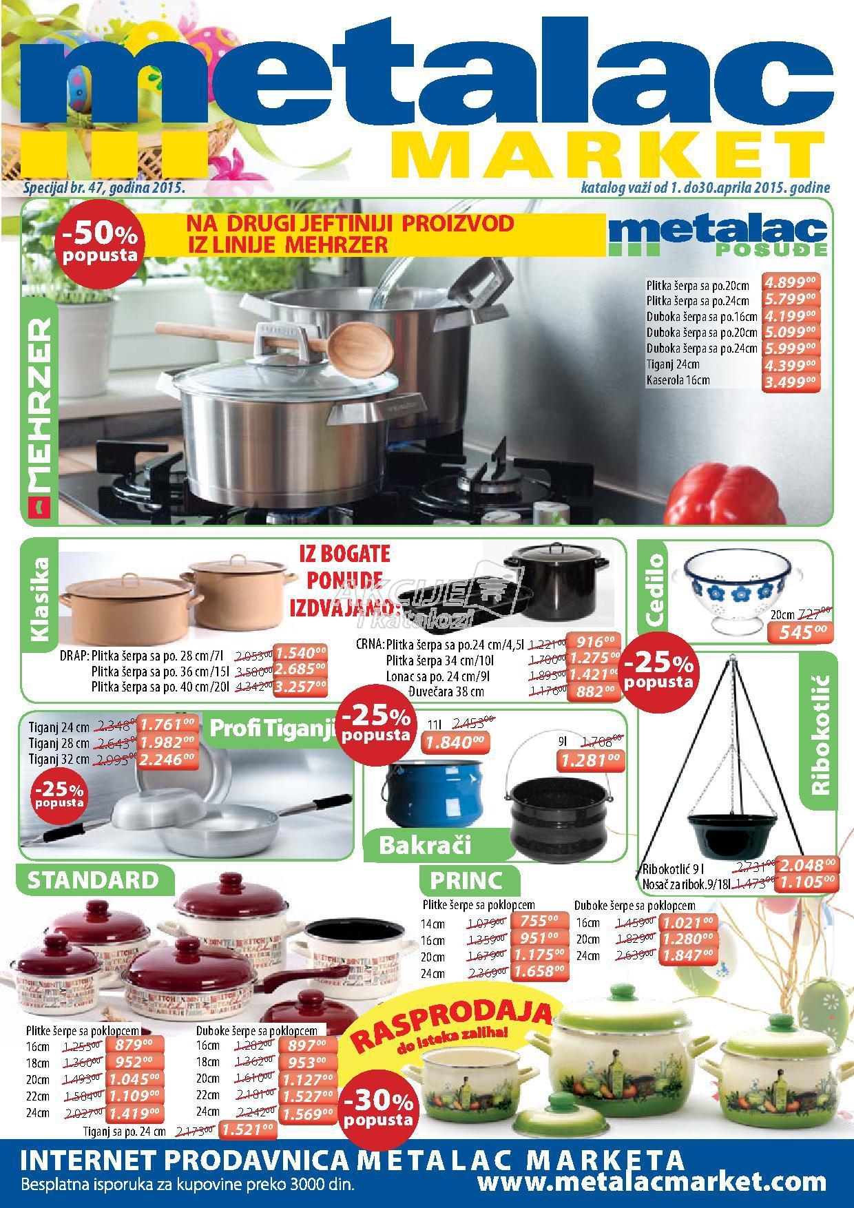 Metalac - Redovna akcija super ponude
