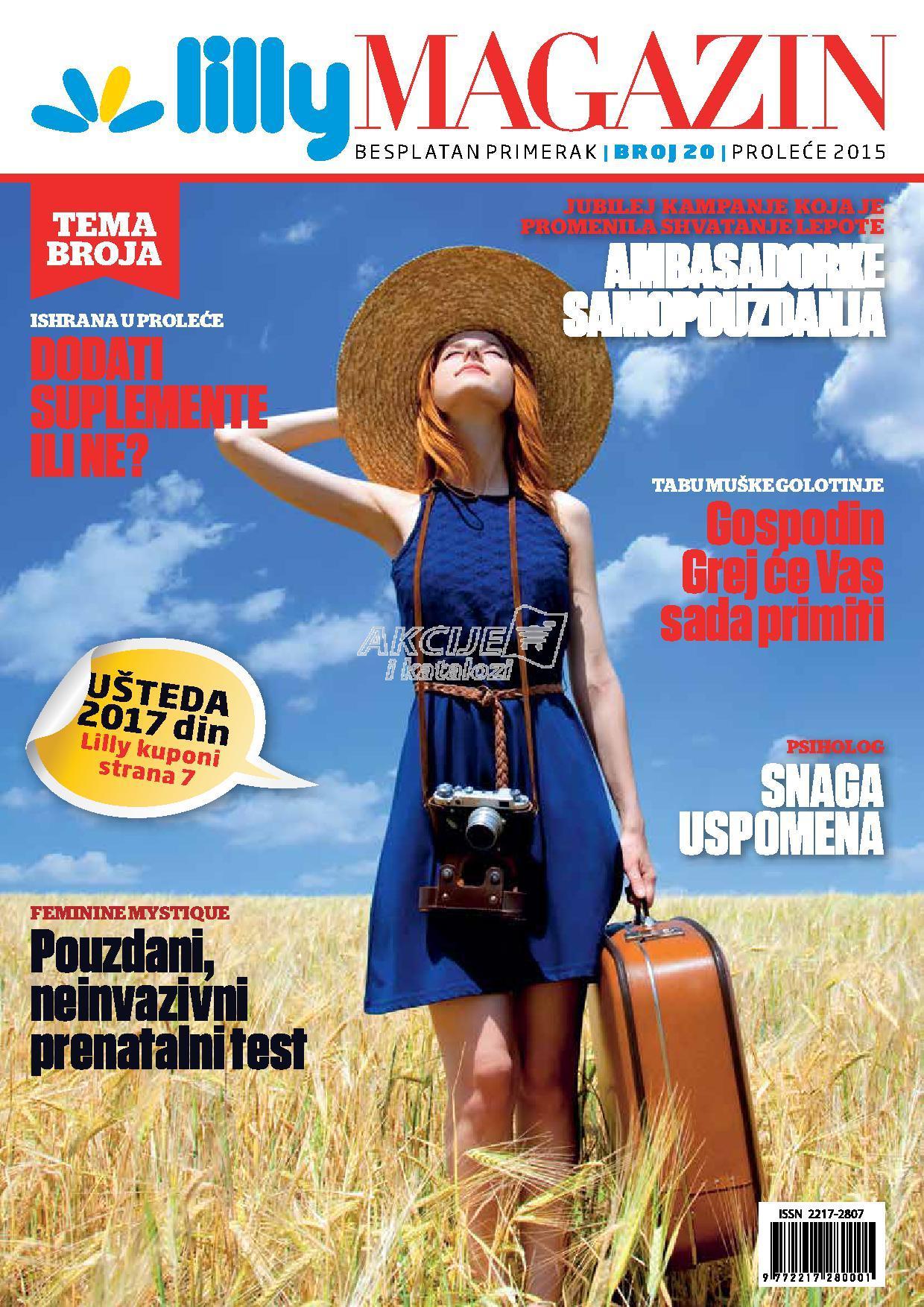 Lilly - Redovna akcija prolećni magazin