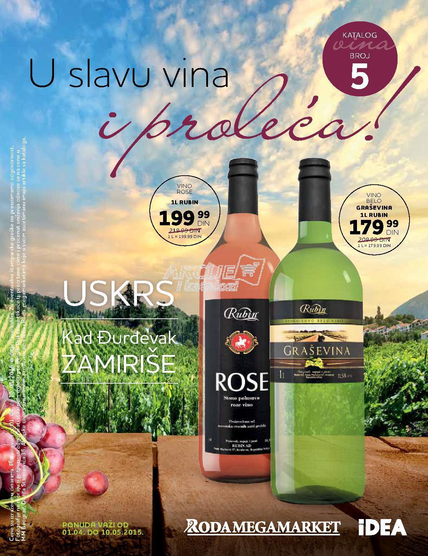 Roda - Redovna akcija super ponuda vina