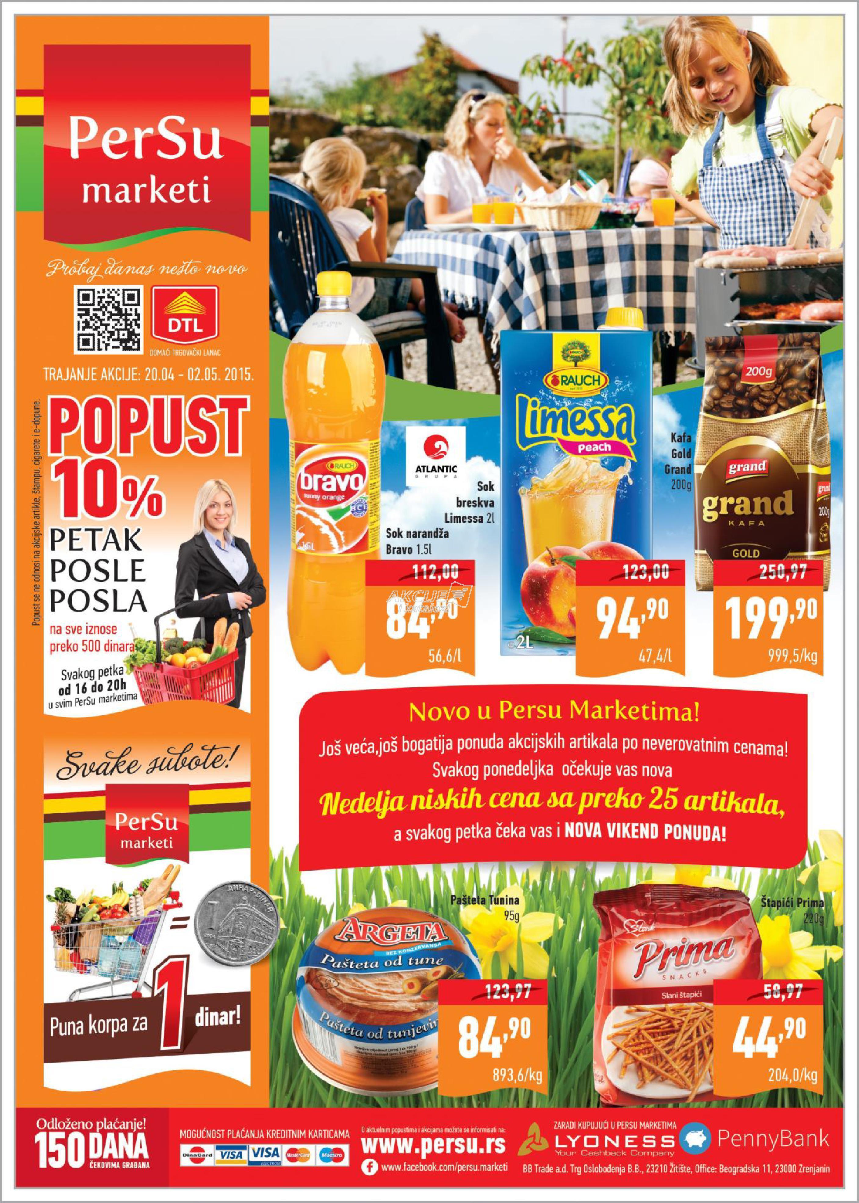 Persu - Redovna akcija sjajne kupovine