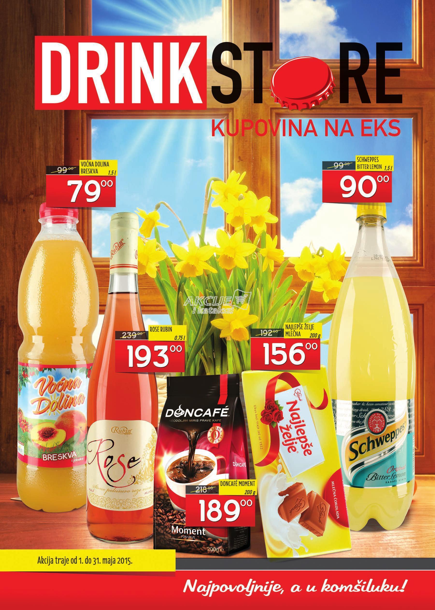 Drink Store akcija majske ponude