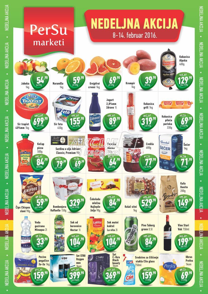 Persu akcija nedelja super kupovine