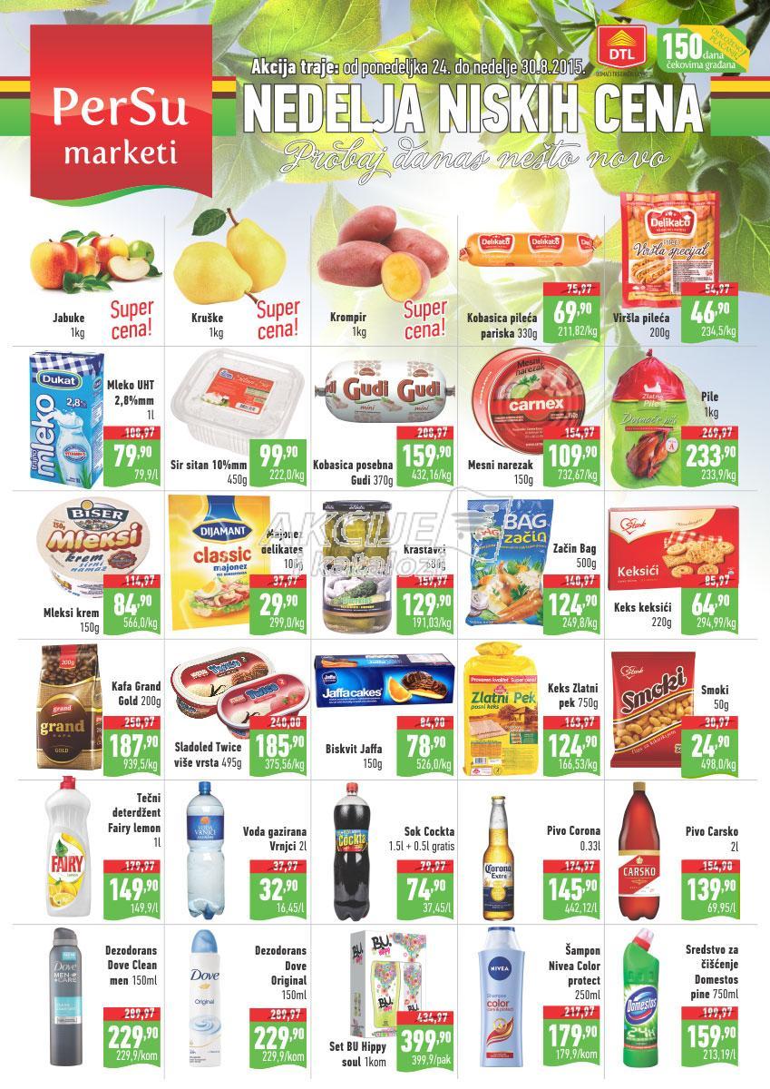 Persu - Redovna akcija nedelja super kupovine