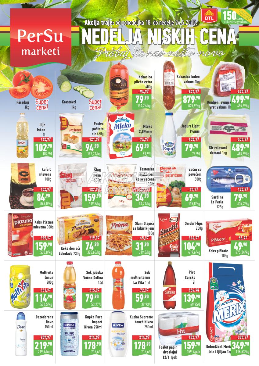 Persu - Redovna akcija nedeljna kupovina