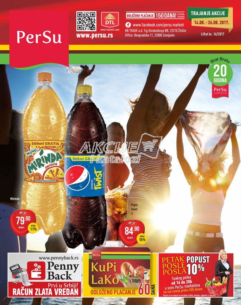 Persu - Redovna akcija odlične kupovine